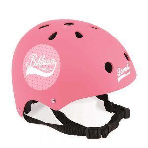 Casco Protettivo Rosa per Bici Janod - J03272