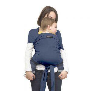 Fascia Portabebé Baby Wrap Blu Suavinex - 3400869