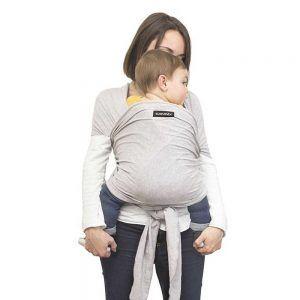 Fascia Portabebé Baby Wrap Grigia Suavinex - 3400869