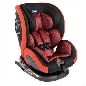 Seggiolino Auto Seat4Fix Poppy Rosso Chicco - 4079860850000