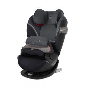 Seggiolino Auto per Bambini Pallas S-Fix Granite Nero Cybex - 520000559