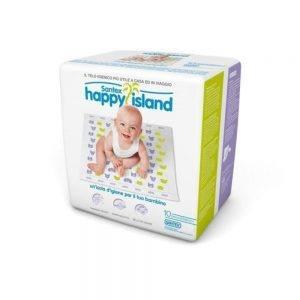 Telo Igienico Happy Island 10pz Santex Happy Island - 8011809013032