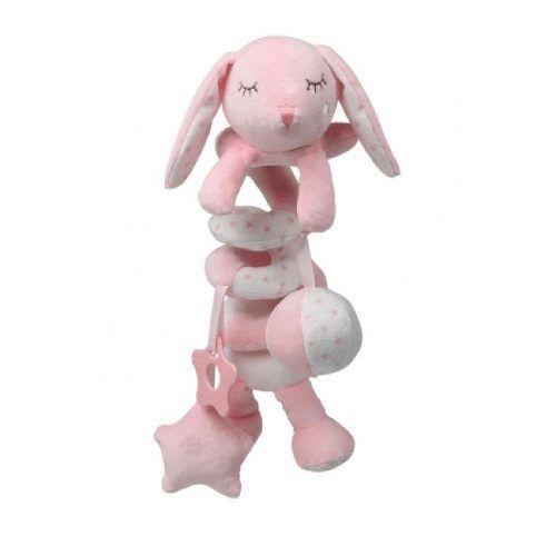 Torciglione Gioco Coniglio Rosa KioKids – 2485