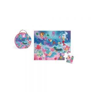 Valigetta Puzzle Mermaid Janod - J02683