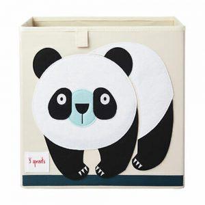 Contenitore Portaoggetti Panda 3 Sprouts - 3SIBXPND