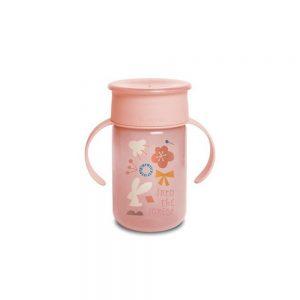 Bicchiere Antigoccia 360 Gradi Rosa Suavinex - 3400765