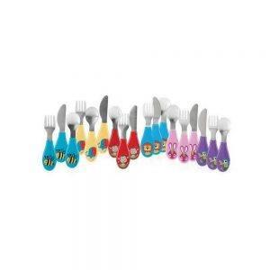 Set 3 Pezzi Posate in Acciaio Inox Nuby - NV0501003