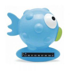 Termometro da Bagno Pesce Palla Celeste Chicco - 6564200000