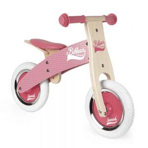 La Mia Prima Bicicletta Rosa Little Bikloon Janod - J03259