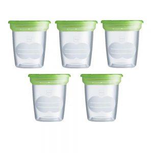 Set 5 contenitori per Latte e Alimenti Mam - GFD1D4BO001AAA