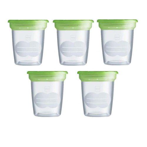 Set 5 contenitori per Latte e Alimenti Mam – GFD1D4BO001AAA