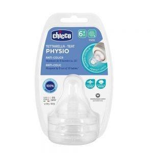 Tettarella Physio in Silicone 6m + Chicco - 20347000000