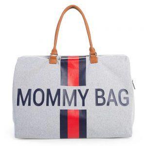 Borsa Fasciatoio Mommy Bag Blu e Rossa Childhome - CWMBBCGR