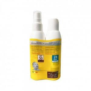 Bipack Solare Bimbi e Latte Doposole Fiocchi Di Riso - 00095293000000