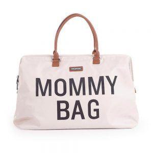 Borsa Fasciatoio Mommy Bag Avorio e Nero Childhome - CWMBBWH