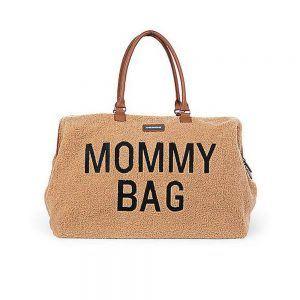 Borsa Fasciatoio Mommy Bag Peluche Marrone Childhome - CWBBT