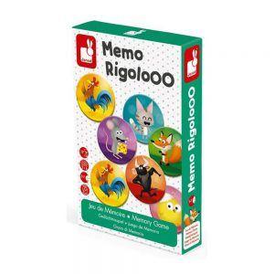 Memo Rigolooo Gioco Memory Janod - J02736