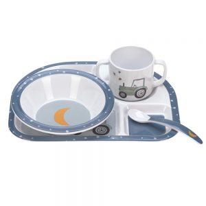 Set Pappa Trattore Blu Lassing - 1310011496