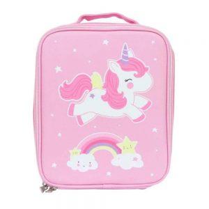Cool Bag Borsa Pranzo Termica Unicorno A Little Lovely - CBUNPI09