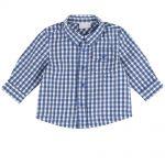 Camicia Bambino a Quadri Azzurra Chicco – 51581