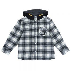 Camicia di Flanella da Bambino con Cappuccio Chicco - 54588
