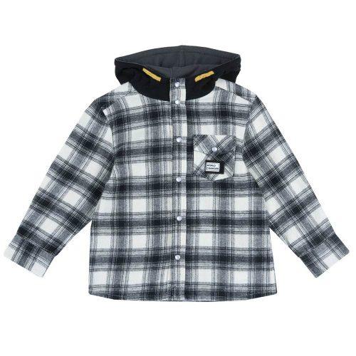 Camicia di Flanella da Bambino con Cappuccio Chicco – 54588