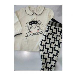 "Completino Bambina Due Pezzi ""Princess"" Chicco - 07420"