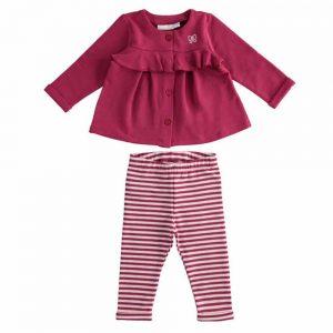 Completino Bambina Rosa con Giacchina Minibanda - 3370300