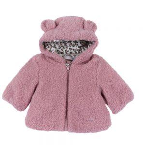 Giubbottino Bambina Teddy Rosa Chicco - 87637