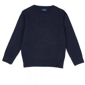 Maglione Golf Bambino Girocollo Blu Chicco - 69567