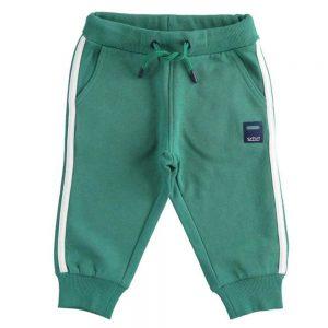Pantalone Tuta Bambino Verde Sarabanda - D311400