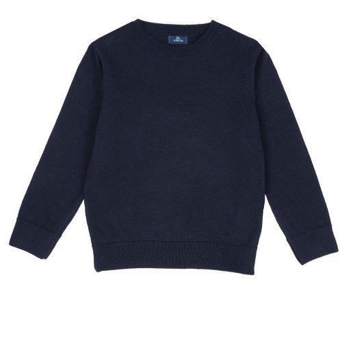 Pullover Bambino con Girocollo Blu Chicco – 69567