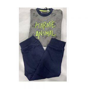 Tuta Bambina Due Pezzi Karate Animal Sarabanda - 1370400