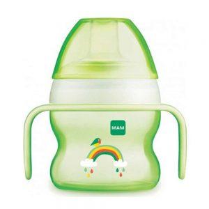 Bicchiere Borraccia Starter Cup 150 ml Verde Mam - GHC5A7BO002