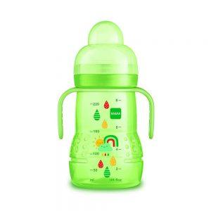 Bicchiere Borraccia Trainer 220 ml Verde Mam - GHC1B6BO001