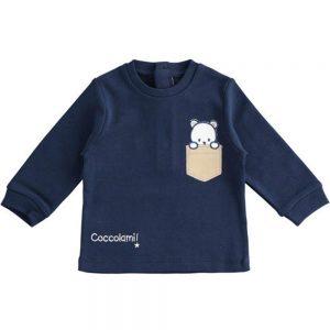 Maglietta Bambino Manica Lunga con Orsetto Minibanda - 3363400