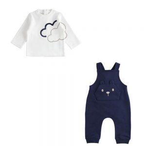 Salopette Bambino con Orso Minibanda - 3365700